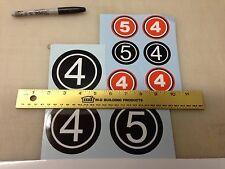 Allis Chalmers Minibike mini bike Decals stickers
