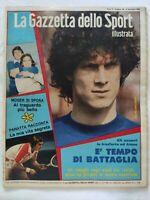 GAZZETTA DELLO SPORT ILLUSTRATA N. 49-1980 FRANCESCO MOSER PANATTA PAOLO ROSSI