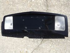 03-07 CADILLAC CTS REAR TRUNK FINISH PANEL Reverse LICENSE PLATE TRIM BLACK
