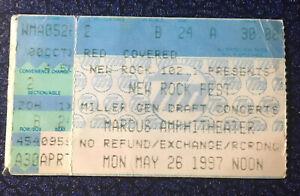 Beck Iggy Pop Matchbox 20 Concert Ticket Stub 5-26-97