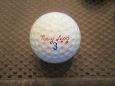 LOGO GOLF BALL-NANCY LOPEZ SIGNATURE #3 GOLF BALL......RAM SURLYN..