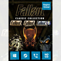 Fallout Classic Collection for PC Game Steam Key Region Free