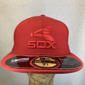 New Era MLB Boston Red Sox Cooperstown Collection 59fifty Fitted Hat  7 1/4