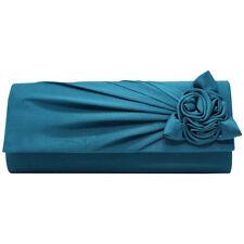 Charm Flowers Clutch Bag Evening Prom Party Night Wedding Women Shoulder Handbag