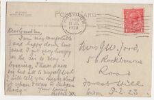 Mrs J W Lord Rockbourne Road Forest Hill London 1920  299a