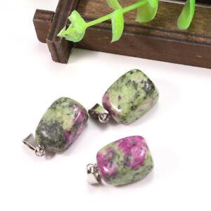 Charms 50pcs Fashion Assorted Natural Irregular Stone Pendants for Jewelry makin