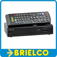RECEPTOR TDT TV DIGITAL TERRESTRE HD SALIDAS HDMI 3XRCA COAXIAL RF USB BD10623