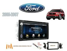2005-2007 FORD FREESTYLE DDIN STEREO KIT, BLUETOOTH USB TOUCHSCREEN DVD