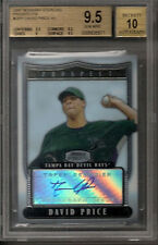 David Price RED SOX 2007 Bowman Sterling Signed Rookie Card rC BGS 9.5 Auto 10