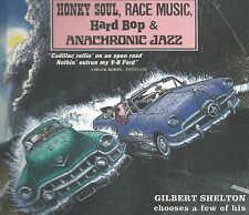 RARE STILL SEALED CD IN BOOK COVER HONKY SOUL RACE MUSIC CHUCK BERRY CLOVERS ++