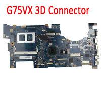 For Asus G75VX Motherboard  3D LCD Connector 60-NLEMB1001-C03  HM77 Mainboard