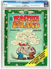 EARTH ISLAND #1, CGC 9.6, 1ST (Only), UNDERGROUND COMIX, Robert Crumb, 1970