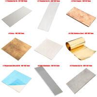 9 Typ 6AL4V Titan Ti Platte Blatt Platten Folie Für Metallbearbeitung Titanblech