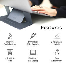 Invisible tablet Stand Seamlessly Integrated Folding Holder For Laptop Notebook