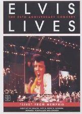 "ELVIS PRESLEY ""ELVIS LIVES THE 25TH ANN. CONCERT"" DVD"