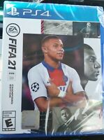 FIFA 21 ~ Sony PlayStation 4 PS4 ~ BRAND NEW FACTORY SEALED Champions Edition!