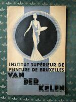 Van Der Kelen Institut Verdeck Lack Katalog Gewerbe 1937