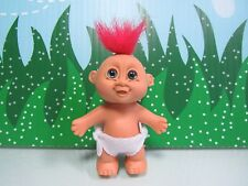 """VALENTINE STANDING BABY - 3"""" Russ Troll Doll - NEW STORE STOCK (Red Hair #2)"""