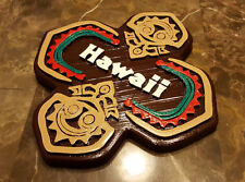 "7"" x 7"" Personalized Polynesian Themed Tiki Sign / Plaque (Disney Inspired Prop)"