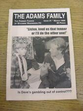 Mar-1998 Wycombe Wanderers: FANZINE-LA FAMIGLIA ADAMS EDIZIONE 31. grazie per la vista