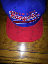 NEW YORK RANGERS 1994 VINTAGE TEAM AUTOGRAPHED HAT