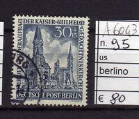 FRANCOBOLLI GERMANIA BERLINO USATI N°95 (A6043)
