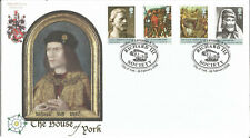 The House of York Richard III Society Official Buckingham Covers FDC 2008 MC038