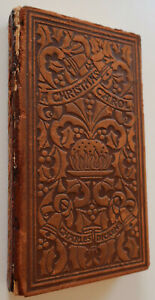 A Christmas Carol In Prose,1904, Charles Dickens, Arts and Crafts,Leather,Signed