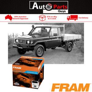 Fram 4WD Filter Service Kit fits TOYOTA LANDCRUISER HZJ75,78,79 4.2L 1HZ 90 - 07