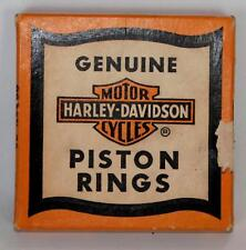 UNUSED GENUINE HARLEY-DAVIDSON PISTON RINGS SET # 22357-53.010 LARGER RINGS