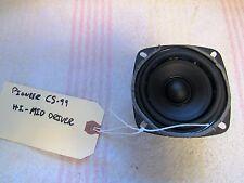 """PIONEER BRAND. MODEL CS-99. ONE 3"""" MIDRANGE/SPEAKER.USED. WORKS. #1117. JAPAN"""