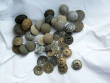 Set of military tunic uniform wehrmacht buttons