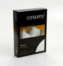 More details for conqueror a4 premium paper 100gsm various colours, finishes and quantities