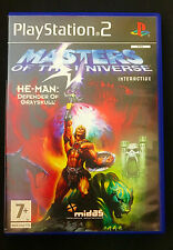 PS2 HE-MAN Masters of the Universe: Defender of GraySkull PAL Complete w/ Manual