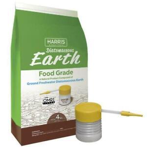 Harris Diatomaceous Earth Food Grade Organic / Free Duster  4lb