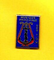 Pin's lapel pin pins Militaria Military MUSIQUE PRINCIPALE DES TROUPES DE MARINE