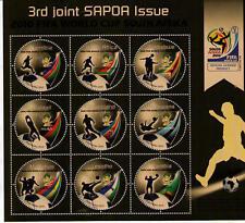 Zambia FIFA World Cup 2010 SAPOA combination sheetlet
