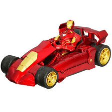Marvel Iron Man & Turbo Racer Figura de Acción & Hierro Racer Nuevo Sellado