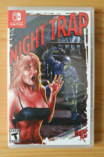 Night Trap (Nintendo Switch, 2018) Limited Run #008 NEW SEALED