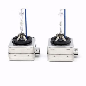 D1S 8000K HID XENON PAIR Two REPLACEMENT BULB Lamp Blue Light New DS1 8000K..