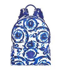 VERSACE Painted Flower Backpack