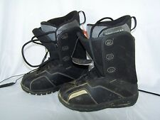 Ride MFG Snowboard Boots Women's Black Size 7.5 Snowboarding Shoes Flex Tech