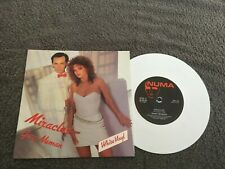 "Gary Numan-Miracles.7"" white vinyl"