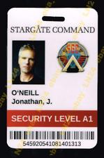 Stargate SG1 - ID Badge - Jack O'Neil