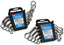 2 Hilka 5pce Spanner Sets - C Obstruction and S Type Spanners