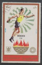 Fujeira- 1972,Munich Jeux Olympiques Stamp - Cto