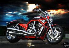 2008 Harley Davidson V-ROD Motorcycle, Refrigerator Magnet, 40 MIL