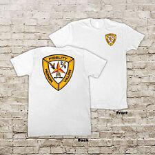 US 2nd Battalion 9th Marines USMC Marine Corp WWII White or Black T-Shirt