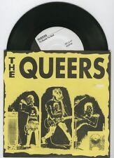 "The Queers ""Too Dumb to Quit"" 7"" OOP Screeching Weasel Ben Riverdales"