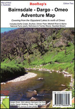 ROOFTOP'S BAIRNSDALE - DARGO - OMEO ADVENTURE MAP - CAMPING WALKING 4WD TRACK